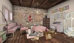 Vintage Romance Bedroom
