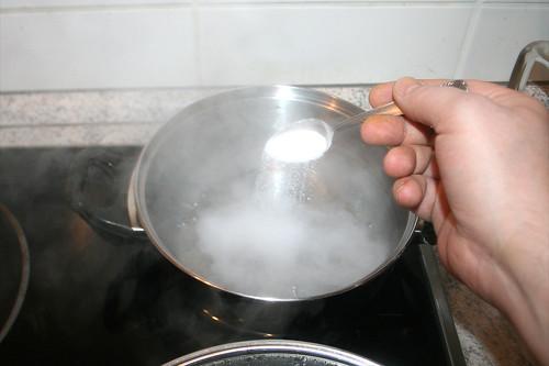 41 - Wasser salzen / Salz water