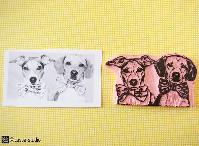 Sello personalizado de mascotas Cassa-Studio