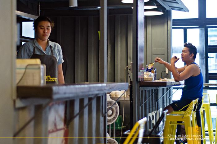 Junction Hostels Food Truck in Makati City