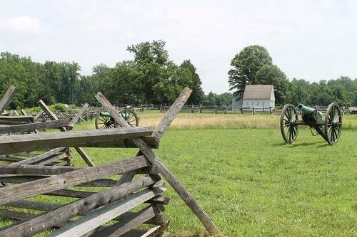 Gaines Mill Battlefield Virginia