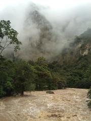 Roiling Urubamba River