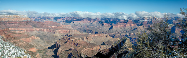 Grand Canyon Pano with Clouds