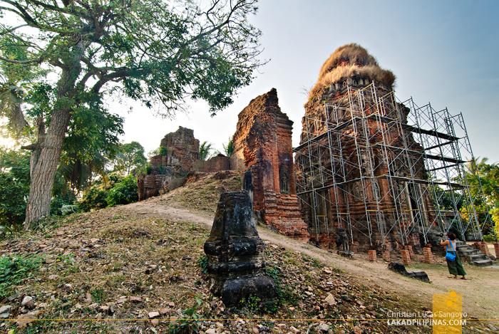 Lolei Temple in Rolous, Siem Reap