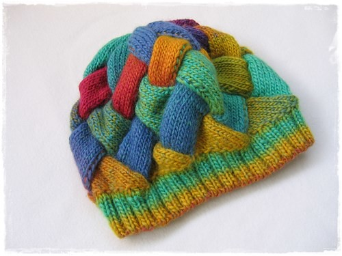 entrelac hat_3