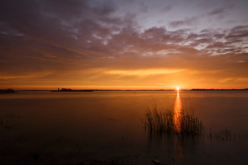 sun lake sunrise canon sunrays sunbeam athlone 6d 1635mm hodsonbay loughree