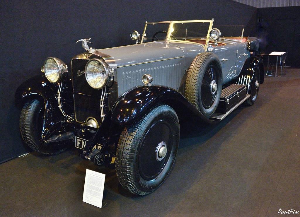 1926 Hispano Suiza H6 B  double phaéton