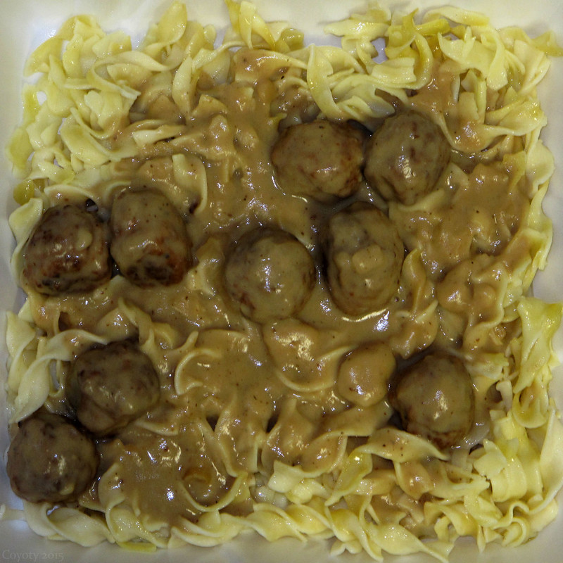 Square meal: Swedish meatballs