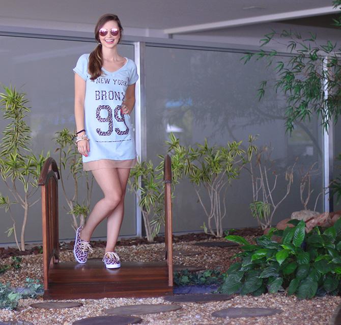 05-look do dia vestido e tenis de oncinha la mandinne e blog sempre glamour