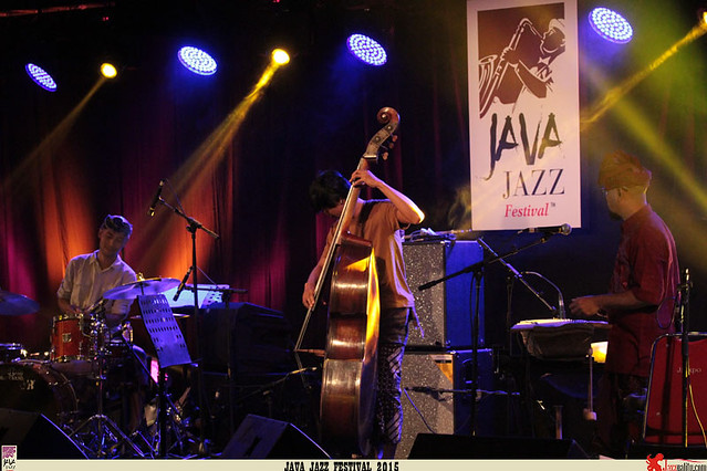 Java Jazz Festival 2015  Day 1 - Gustu Brahmanta Trio