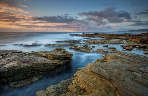 seascape sunrise australia