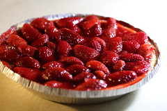 plant(0.0), cranberry(0.0), raspberry(0.0), pastry(1.0), strawberry pie(1.0), berry(1.0), strawberry(1.0), baked goods(1.0), frutti di bosco(1.0), produce(1.0), tart(1.0), fruit(1.0), food(1.0), dish(1.0), dessert(1.0), cherry pie(1.0),