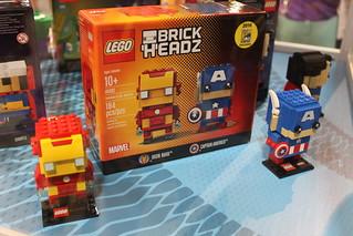 LEGO BrickHeadz Iron Man & Captain America (41492)
