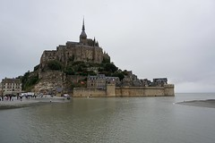 Mont Saint-Michel amb marea alta