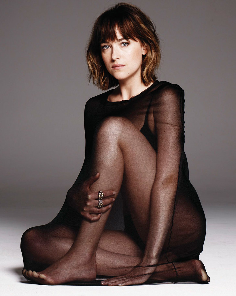 Дакота Джонсон — Фотосессия для «Elle» 2015 – 8