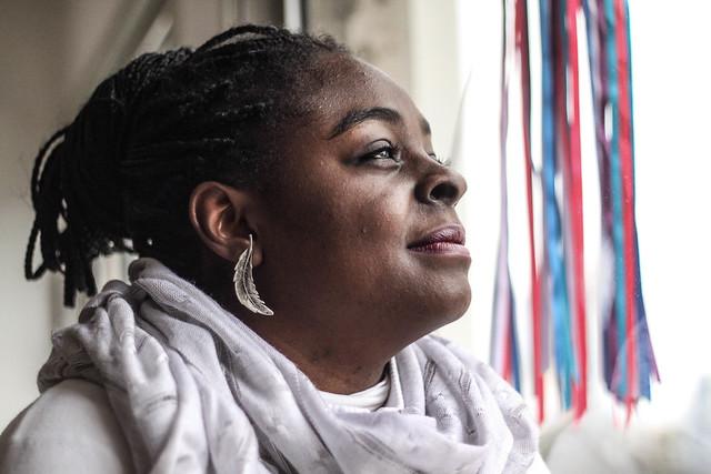 """""""O corpo da mulher negra ainda não tem um lugar nessa sociedade"""", afirma Lúcia - Créditos: Norma Odara"""