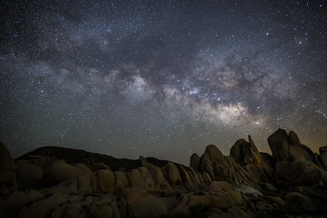 Another Moment to Think about Time and Space - Joshua Tree National Park
