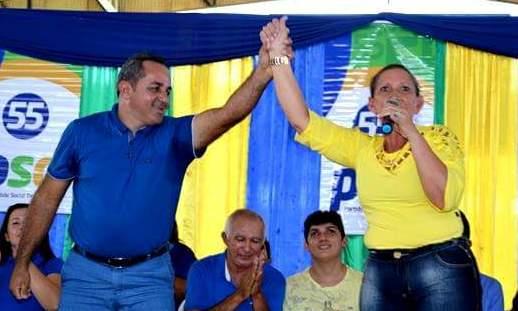 O volume de combustível da candidatura de Terra Santa alvo de cassação, Doca, candidato a prefeito de TS