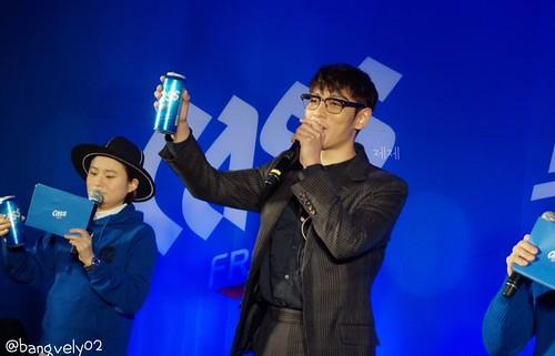 TOP Cass Fresh Pub Event Seoul 2016-01-18 by bangvely02 (1)