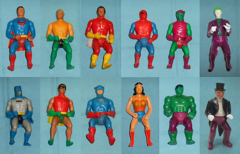 Kids Toys Action Figure: Mego Comic Action Heroes!