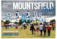 Mountsfield greetings postcard by James Blackman