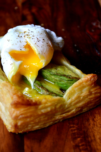 Avocado Puff Pastry Tart Recipe