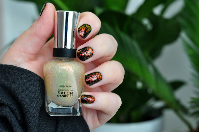 notd sally hansen hidden treasure nail polish rottenotter rotten otter blog