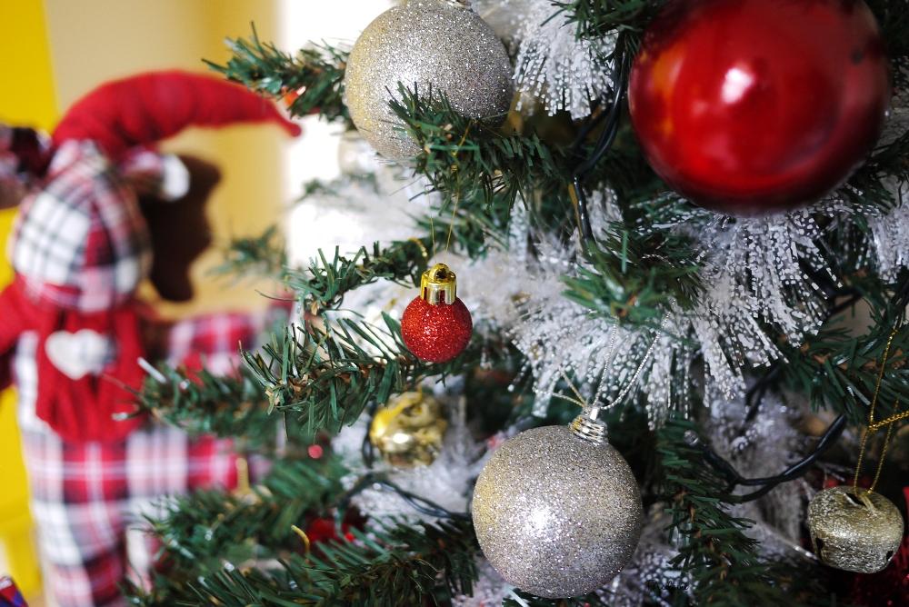 christmas tree porcelaine