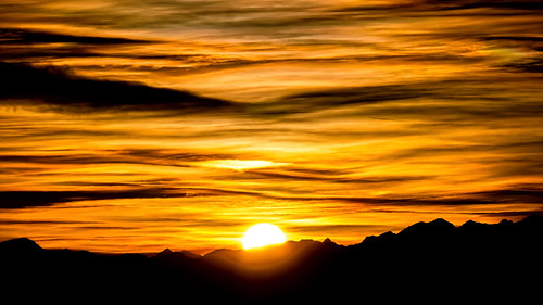 bayern deutschland sonnenuntergang natur oberbayern alpen landschaft chiemsee gipfelkette