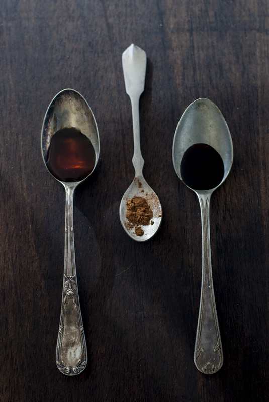 Ensalada de coliflor asada, granada y avellana