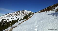 Sidehilling around 7200'