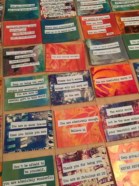 Words of Kindness Cards