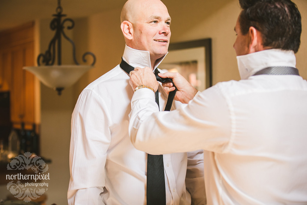 Getting Ready - Melissa & Troy's Wedding