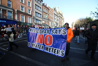 Anti-Water charges protest