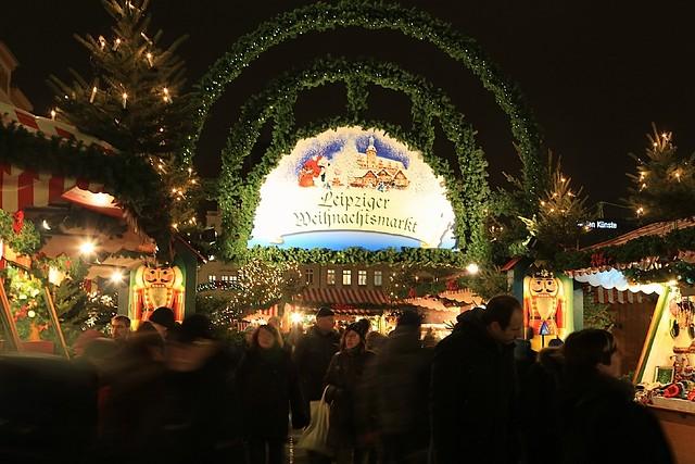Leipziger Weihnachtsmarkt, Markt, Leipzig, Germany, fotoeins.com