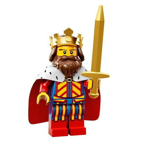 71008 Collectable Minifigures Series 13 Classic King