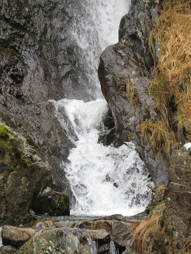 507 waterfall in Nant Ffrancon