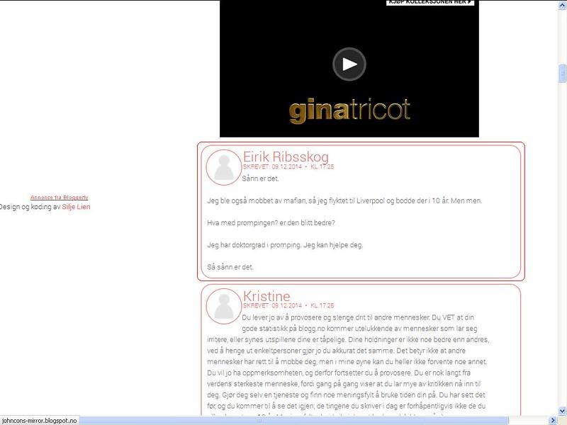 nettmobbing blogg