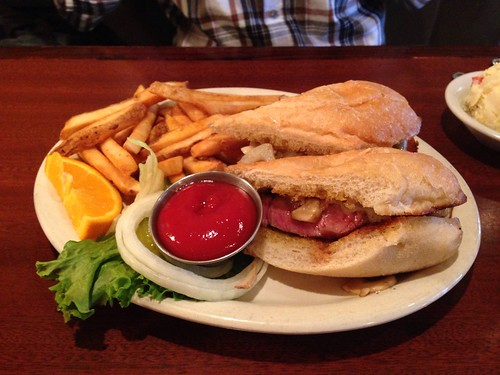 Yummy Steak Sandwich