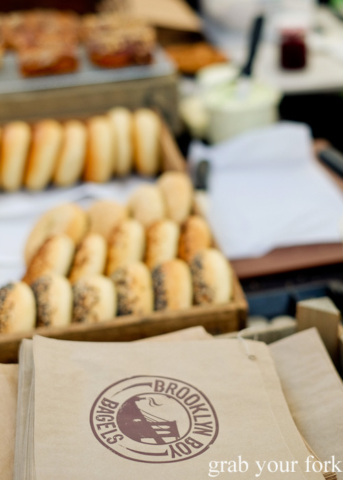 Brooklyn Boy Bagels at Brewery Yard Markets