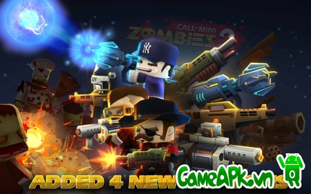 Call of Mini™ Zombies 2 v2.1.3 hack full tiền cho Android