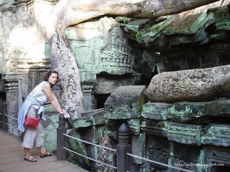 Та Пром - храм в Ангкоре