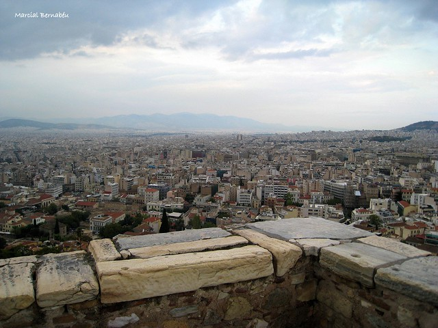Greece - Athens from the Acropolis