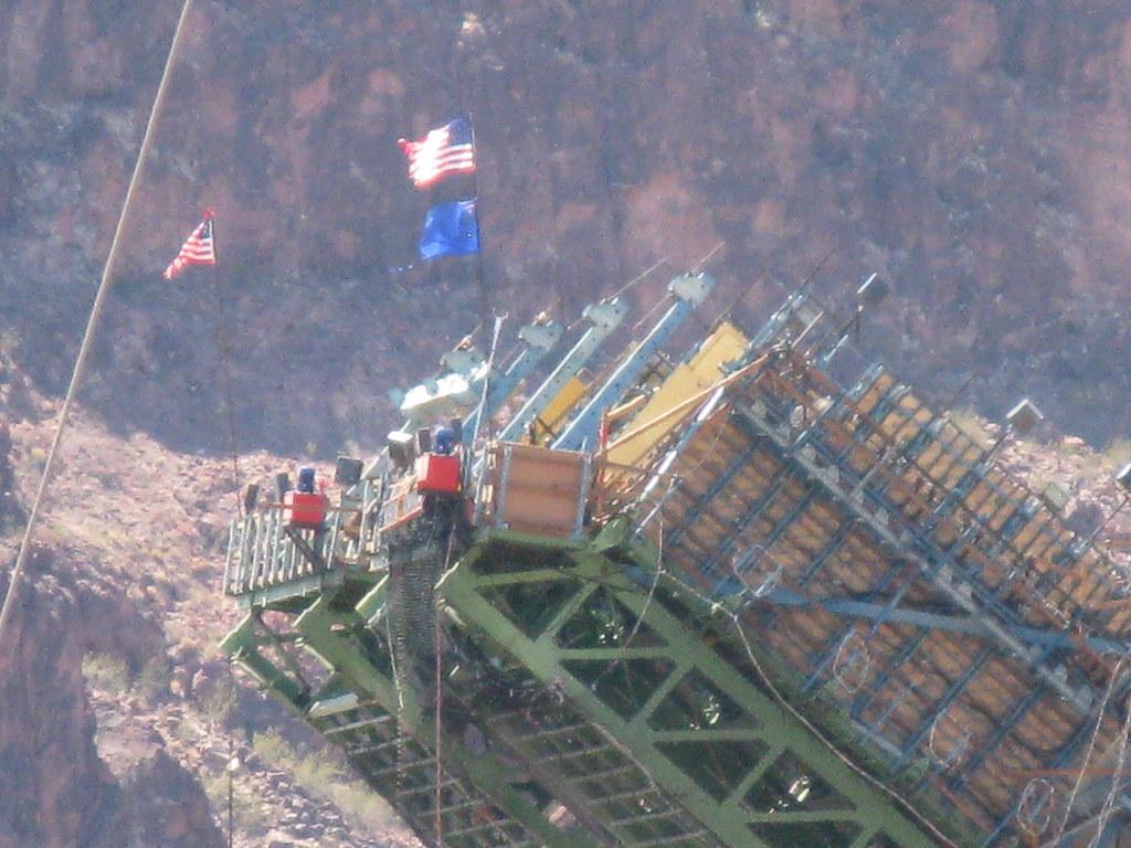 Constructing U.S. 93 bypass bridge