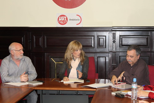 Primera reunión de la Ejecutiva Carmen Castilla