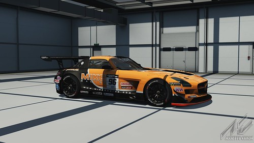 Mercedes SLS GT3 - Mike Racing - GT Asia 2014 - Assetto Corsa