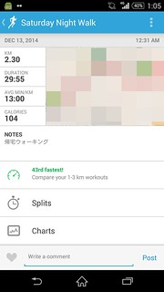 20141212_RunKeeper(Walking)