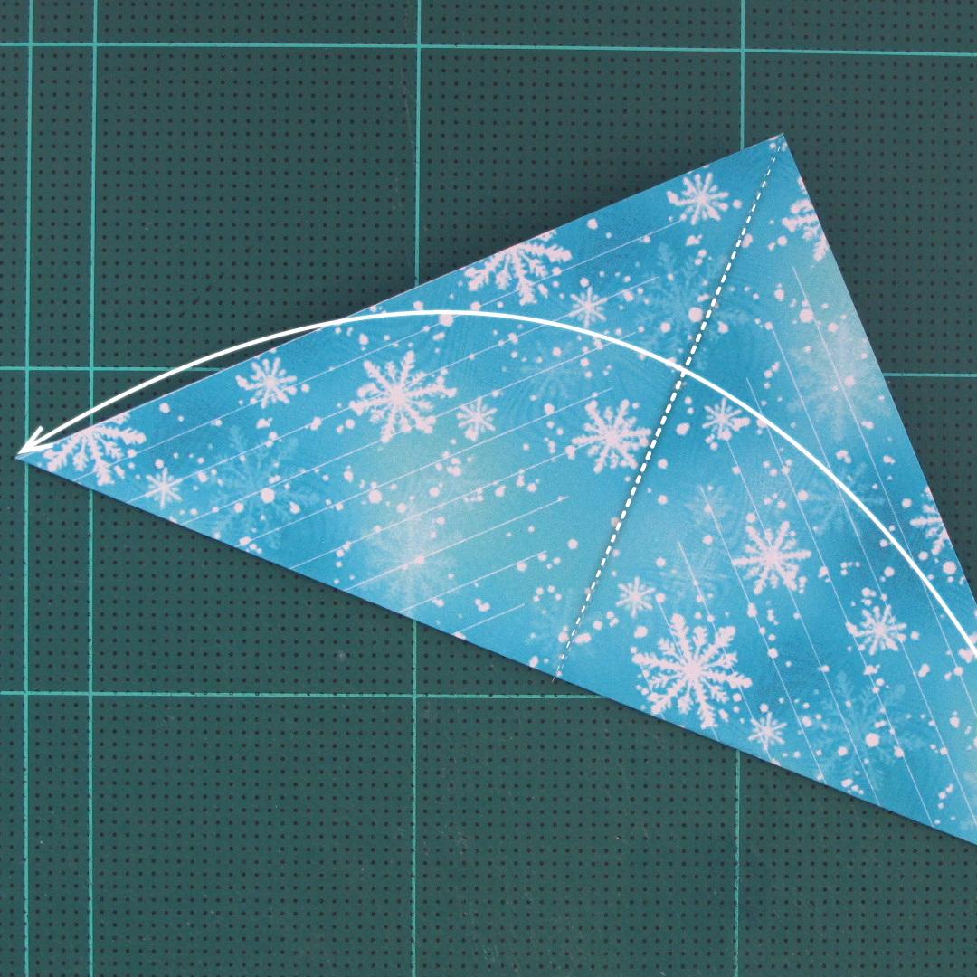 วิธีทำดาวกระดาษรุปเกล็ดหิมะ สำหรับแต่งบ้าน ช่วงเทศกาลต่างๆ (Paper Snowflake DIY) 002