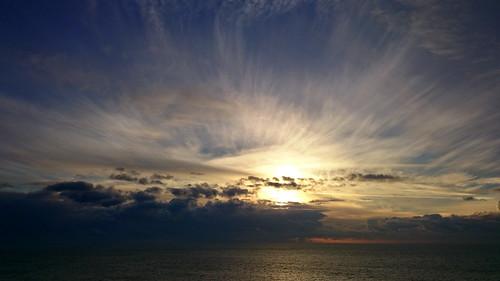 uk morning winter light sea sky seascape colour clouds sunrise skyscape january dorset bournemouth stevemaskell 2015 naturethroughthelens