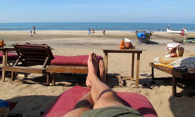 India -Arambol feet